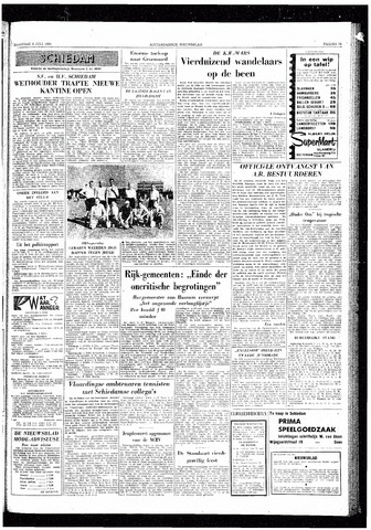 Rotterdamsch Nieuwsblad / Schiedamsche Courant / Rotterdams Dagblad / Waterweg / Algemeen Dagblad 1959-07-06