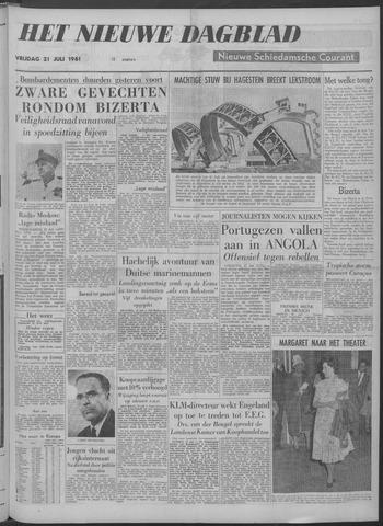 Nieuwe Schiedamsche Courant 1961-07-21