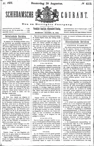 Schiedamsche Courant 1877-08-30
