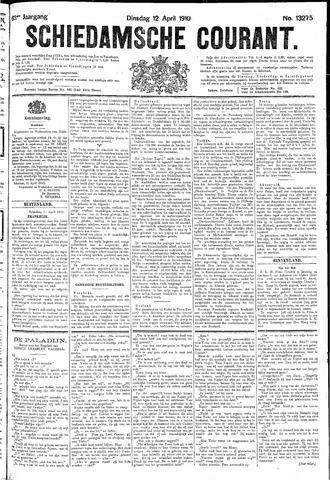Schiedamsche Courant 1910-04-12