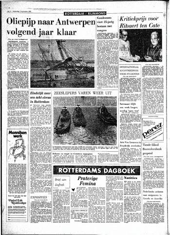 Rotterdamsch Parool / De Schiedammer 1970-09-03