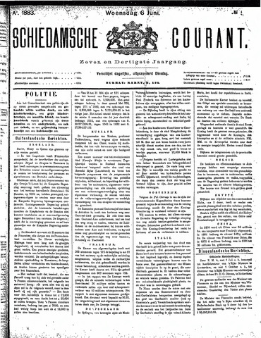 Schiedamsche Courant 1883-06-06