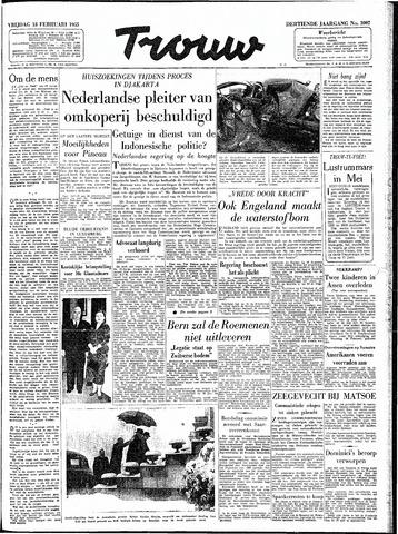Trouw / De Rotterdammer 1955-02-18