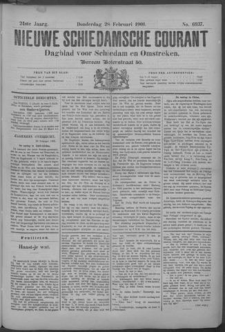Nieuwe Schiedamsche Courant 1901-02-28