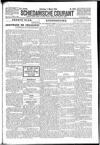 Schiedamsche Courant 1931-03-07
