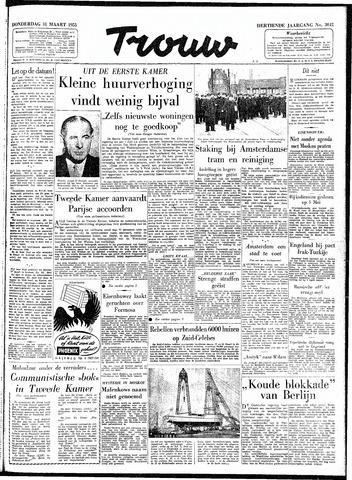 Trouw / De Rotterdammer 1955-03-31