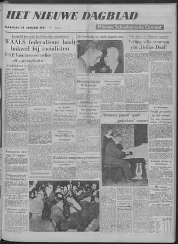 Nieuwe Schiedamsche Courant 1961-01-16