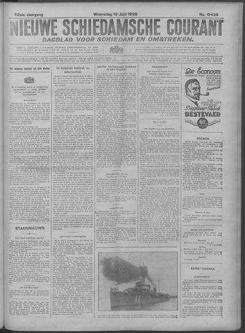 Nieuwe Schiedamsche Courant 1929-06-12