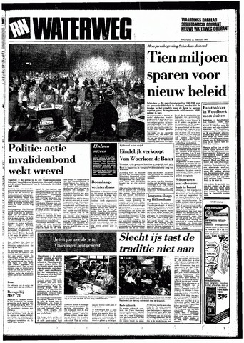 Rotterdamsch Nieuwsblad / Schiedamsche Courant / Rotterdams Dagblad / Waterweg / Algemeen Dagblad 1985-01-21