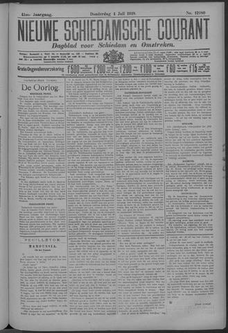 Nieuwe Schiedamsche Courant 1918-07-04