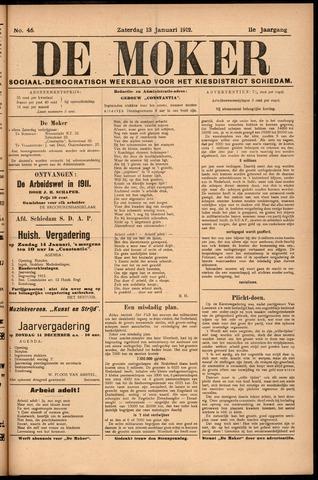 De Moker 1912-01-13