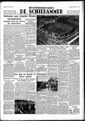 Rotterdamsch Parool / De Schiedammer 1949-04-25