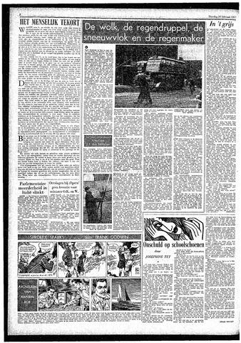 Rotterdamsch Parool / De Schiedammer 1957-02-26