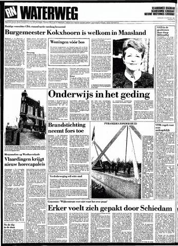 Rotterdamsch Nieuwsblad / Schiedamsche Courant / Rotterdams Dagblad / Waterweg / Algemeen Dagblad 1991-01-15