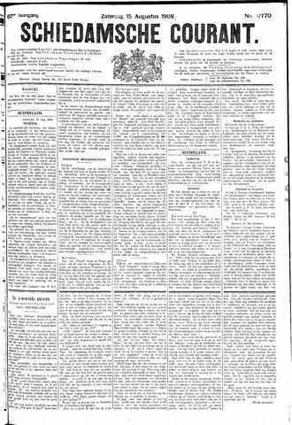 Schiedamsche Courant 1908-08-15