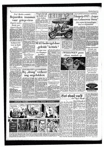 Rotterdamsch Parool / De Schiedammer 1957-06-24