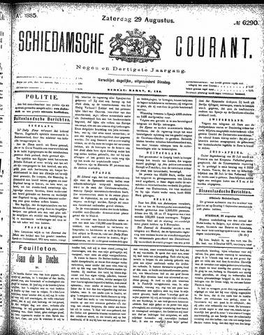 Schiedamsche Courant 1885-08-29