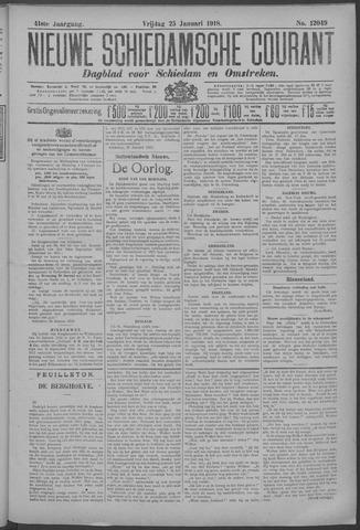 Nieuwe Schiedamsche Courant 1918-01-25