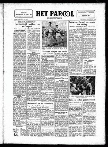 Rotterdamsch Parool / De Schiedammer 1946-08-12