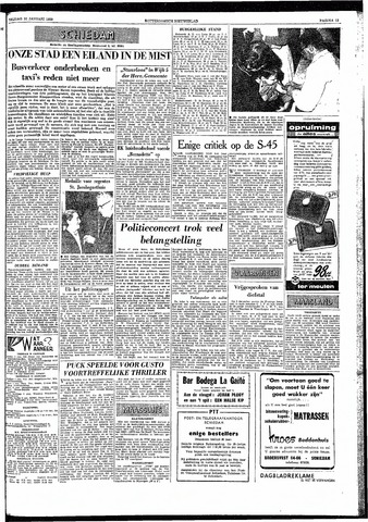 Rotterdamsch Nieuwsblad / Schiedamsche Courant / Rotterdams Dagblad / Waterweg / Algemeen Dagblad 1959-01-30