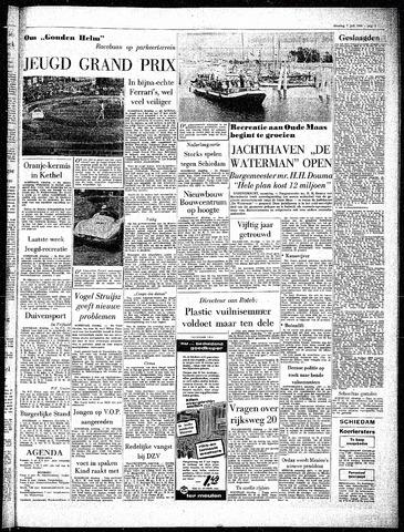 Rotterdamsch Parool / De Schiedammer 1964-07-07