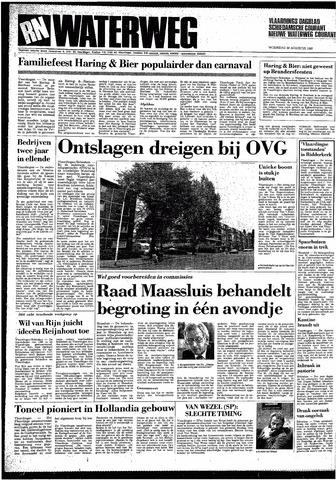Rotterdamsch Nieuwsblad / Schiedamsche Courant / Rotterdams Dagblad / Waterweg / Algemeen Dagblad 1987-08-26