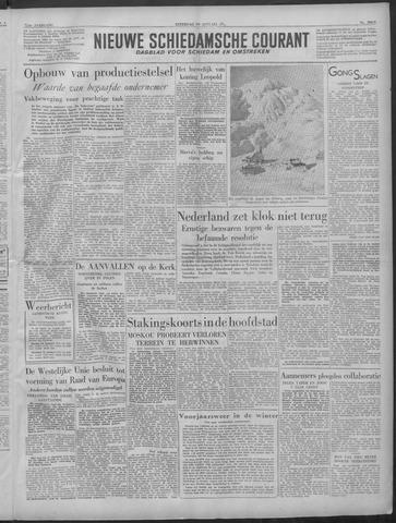 Nieuwe Schiedamsche Courant 1949-01-29