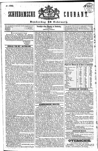 Schiedamsche Courant 1862-02-20