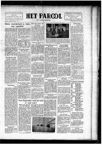Rotterdamsch Parool / De Schiedammer 1946-06-06