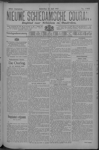 Nieuwe Schiedamsche Courant 1917-07-21