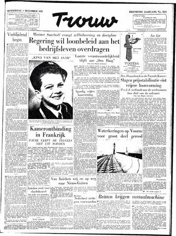 Trouw / De Rotterdammer 1955-12-01