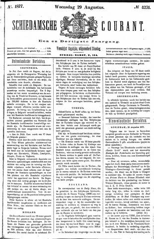 Schiedamsche Courant 1877-08-29