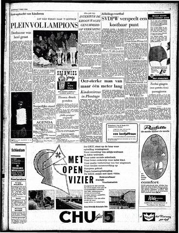 Rotterdamsch Parool / De Schiedammer 1963-05-07