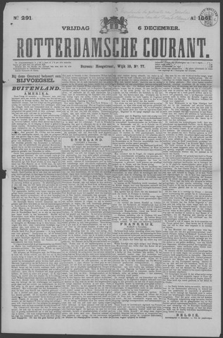Rotterdamse Courant 1861-12-06