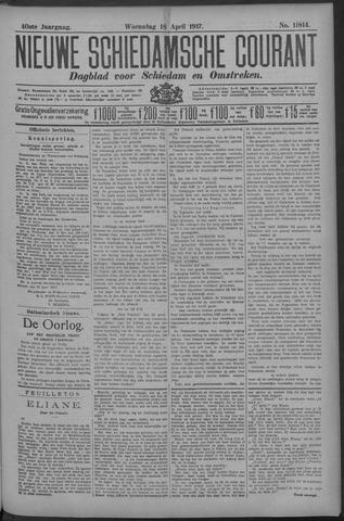Nieuwe Schiedamsche Courant 1917-04-18