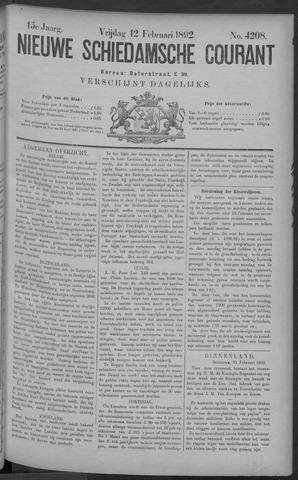 Nieuwe Schiedamsche Courant 1892-02-12