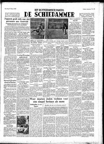 Rotterdamsch Parool / De Schiedammer 1948-03-15