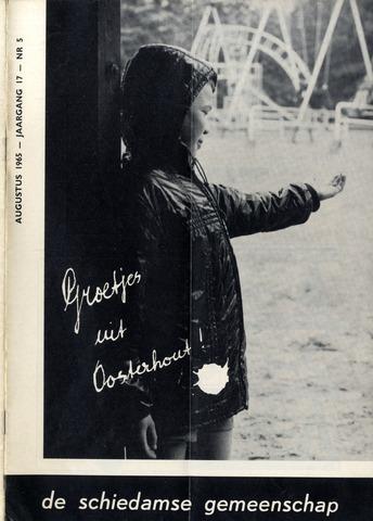 Schiedamse Gemeenschap (tijdschrift) 1965-08-01