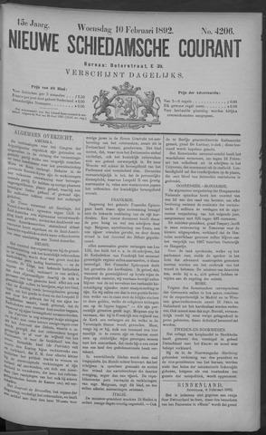 Nieuwe Schiedamsche Courant 1892-02-10