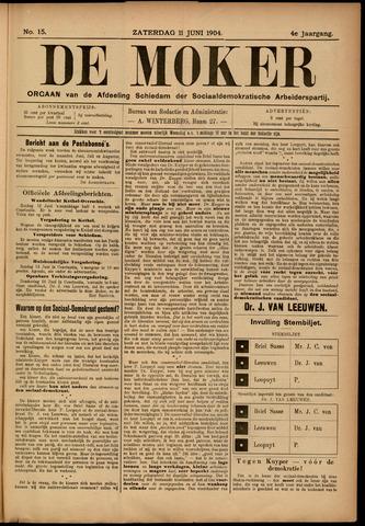De Moker 1904-06-11