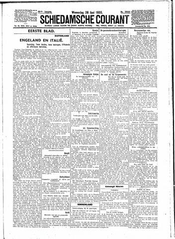 Schiedamsche Courant 1935-06-26