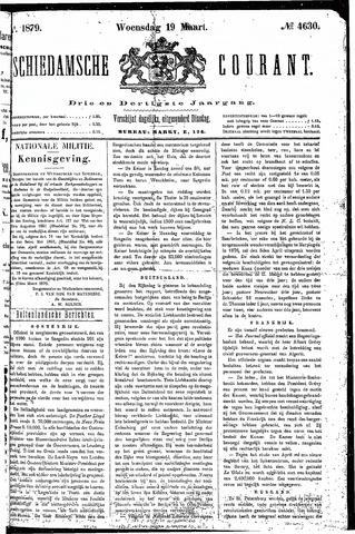 Schiedamsche Courant 1879-03-19