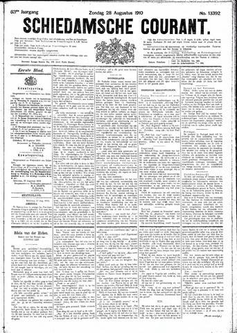Schiedamsche Courant 1910-08-28