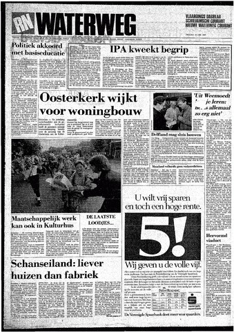 Rotterdamsch Nieuwsblad / Schiedamsche Courant / Rotterdams Dagblad / Waterweg / Algemeen Dagblad 1987-06-19