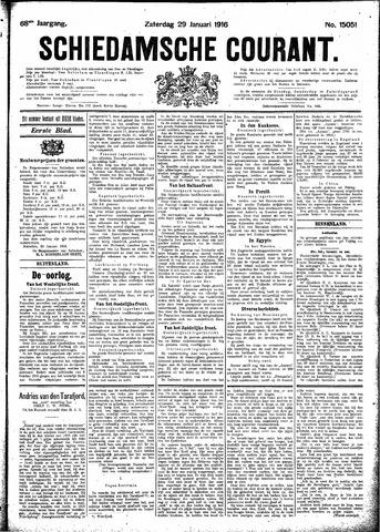 Schiedamsche Courant 1916-01-29