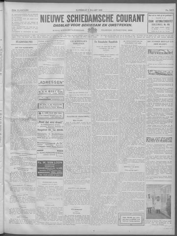 Nieuwe Schiedamsche Courant 1932-03-05