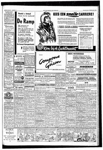Rotterdamsch Nieuwsblad / Schiedamsche Courant / Rotterdams Dagblad / Waterweg / Algemeen Dagblad 1953-02-09