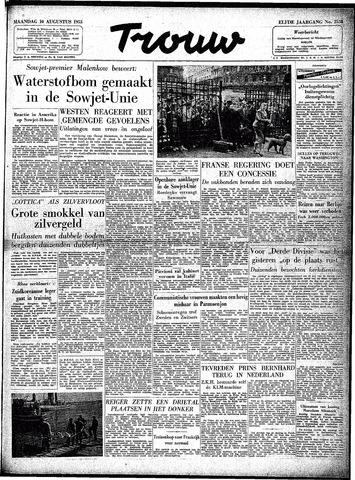 Trouw / De Rotterdammer 1953-08-10