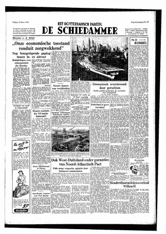 Rotterdamsch Parool / De Schiedammer 1949-03-18