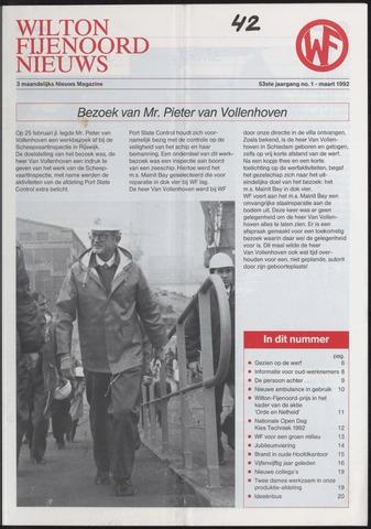 Wilton Fijenoord Nieuws 1992-01-01